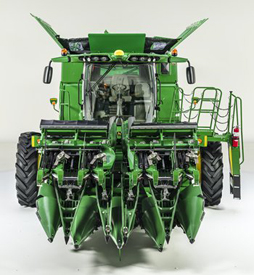 Model year 2017 John Deere S-Series Combine and front-end equipment features
