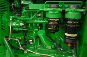 when it comes to your fuel, water is the number one enemy  that's why john  deere fuel filters are not only designed to trap water, they're designed to  repel