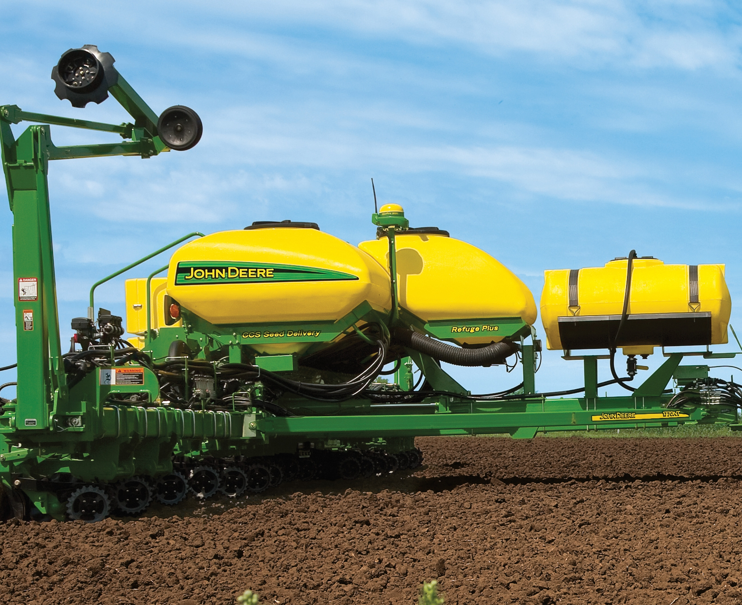 technology series row products ccs stacking follow dr the gull in john planters deere for planting e leader performance our real wing planter