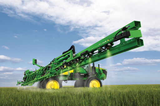 John Deere Model year 2018 4 Series Self-Propelled Sprayer enhancements