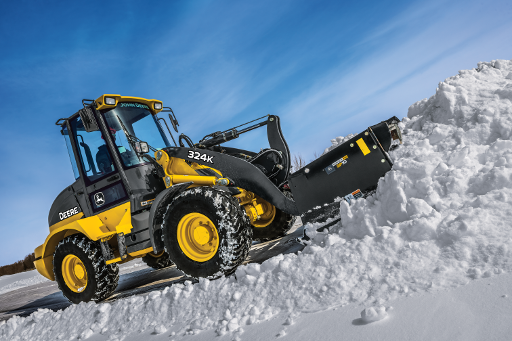 Seasonal John Deere Wheel Loader Rental From $1999/mo $50/h