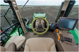 John Deere 9520R Tractor ActiveCommand Steering (ACS(TM)) system
