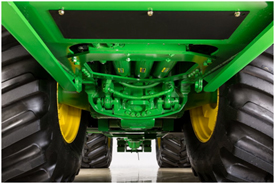 John Deere John Deere 9520R Tractor HydraCushion(TM) suspension